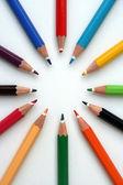 Color pencils — Stock Photo