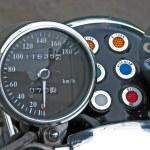 オートバイ スピード メーター — ストック写真 #8673824