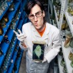 Strange scientist — Stock Photo #15475403