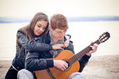 Romantische momenten — Stockfoto