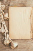 Vintage cookbook — Stock Photo