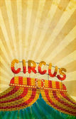 Vintage circus poster background — Stock Photo