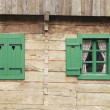 Log cabin detail — Stock Photo