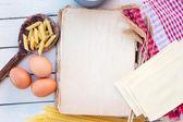 Pasta-rezept — Stockfoto