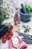 Mediterranean kitchen  — Stock Photo