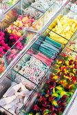 Smíšené barevné želé bonbóny — Stock fotografie