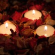 Three candles — Stockfoto #9491544