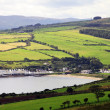 Stock Photo: Irish landscape of Antrim Coast