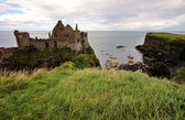 Dunluce Castle, Northern ireland — Foto Stock