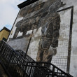 Stock Photo: Bloody Sunday wall-paintings in Londonderry