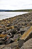 Maltempo sulle coste irlandesi nella contea di sligo — Foto Stock