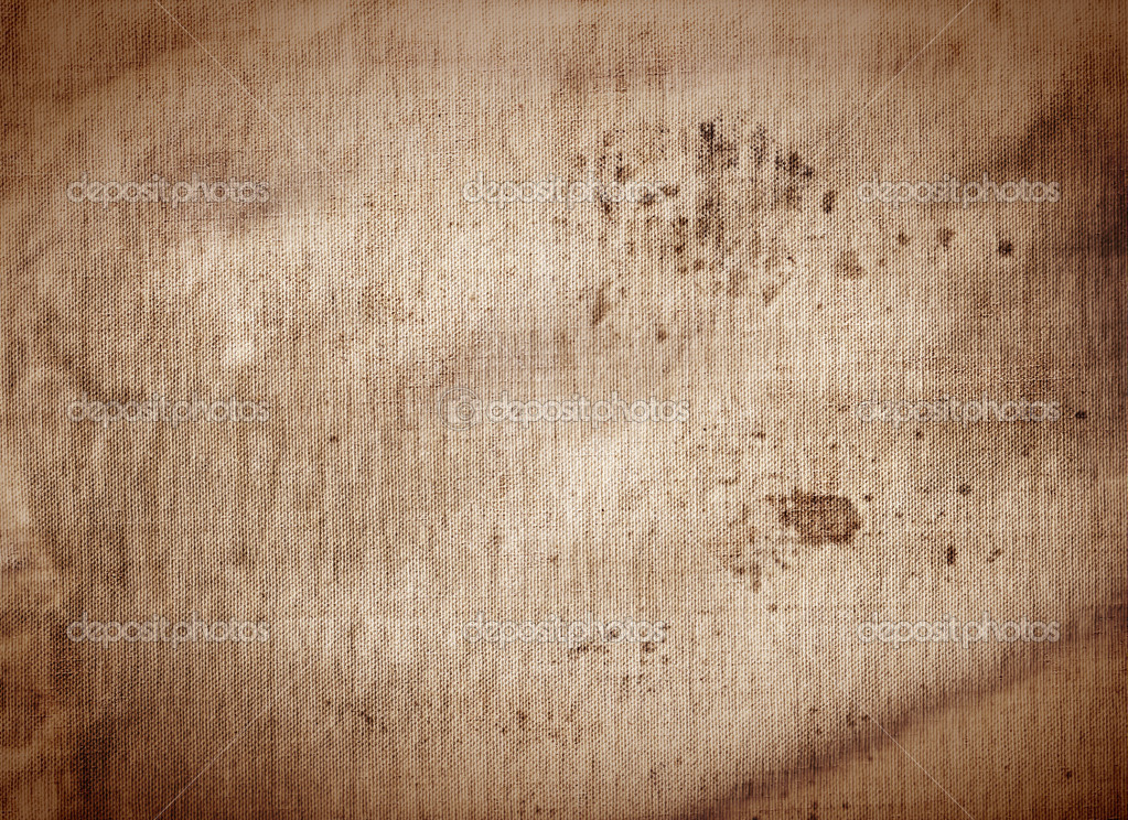 Antiguo Fondo Sucio Café Textura De Lona