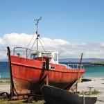 Boats in Inisheer — Stock Photo #31349293