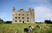 Old castle in The Burren, Ireland — Stock Photo