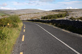 Burren road landscape, Ireland — Stock Photo