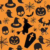 Pattern halloween — 图库矢量图片