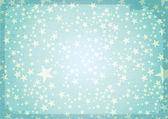 Fond d'étoiles vintage — Vecteur