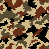 Camouflage seamless background — Stock Vector