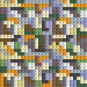 Abstact inconsútil de bloques de color — Vector de stock
