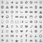 Web application icons collection — Stock Vector
