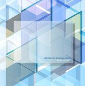 办公室一个灯泡抽象的な幾何学的デザイン テンプレート — ストックベクタ