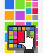 Using color tile interface — Vecteur