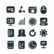Different SEO icons set. Design elements — Stock Vector #40389639