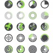 Different indicators collection — Stock Vector #41861349
