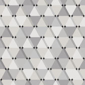 Abstract seamless pattern with grey triangles — Stock Vector