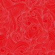 Royalty-Free Stock : Abstract red wave ornament
