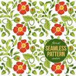 Light seamless pattern with poppies — Wektor stockowy  #49369297