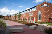 Newin Almere Poort met zonnepanelen — Stock Photo