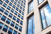 Two facades of office building — Stock Photo