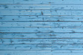 Part of weathered blue boards — Stock Photo