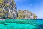 Lagoon beach in thailand — Stock Photo