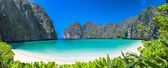Phi-phi pho phuket thayland — Stock Photo