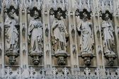 Statues in cathedral — Stock Photo