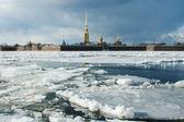 View of Petropavlovskaya Fortress — Stock Photo