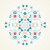 Flerfärgad symmetrisk design — Stockvektor