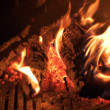 Fireplace Fire — Stock Photo #36567995