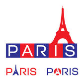 Paris, frankrijk — Stockvector