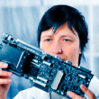 Stock Photo: Electronic laboratory