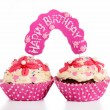 Twins birthday — Stockfoto