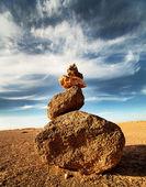 Zen cairn — Stock Photo