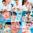 People in laboratory - Foto Stock