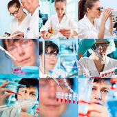 In laboratory — Stock Photo