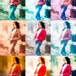 portrét dívky — Stock fotografie