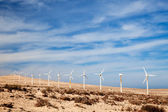 Wind generators — Stock Photo