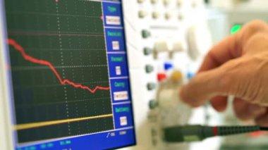 Anesthesia monitor description — Stock Video