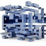3d cube — Stock Photo #27863595